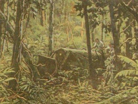 Kodera Kenkichi. Пробиваясь сквозь джунгли.