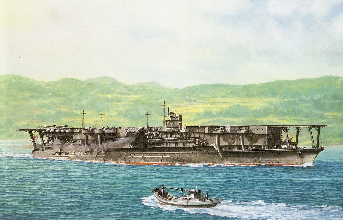 Takeshi Yuki. Авианосец «Kaga».