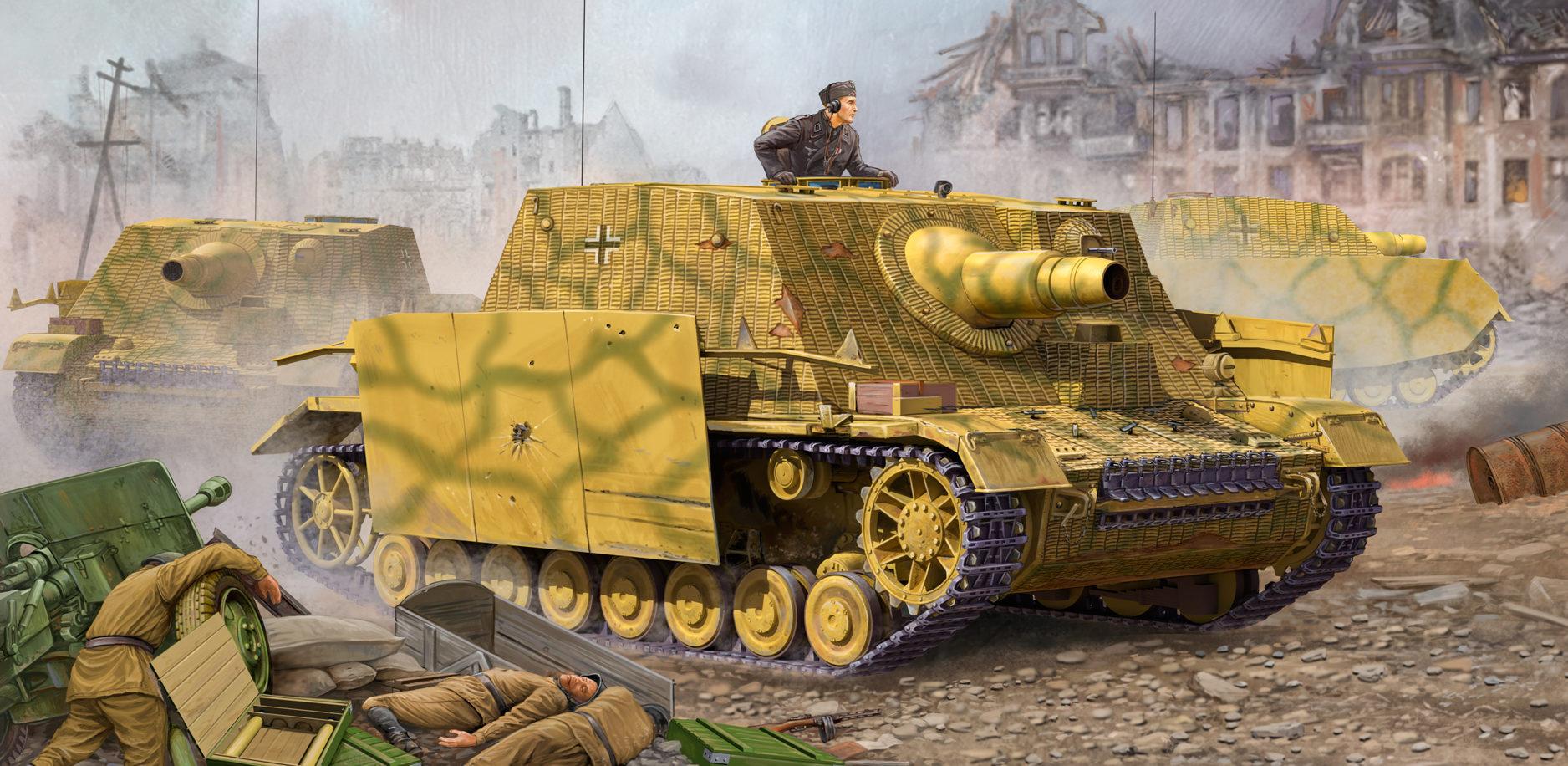 Wai Vincent. САУ Sturmpanzer IV.