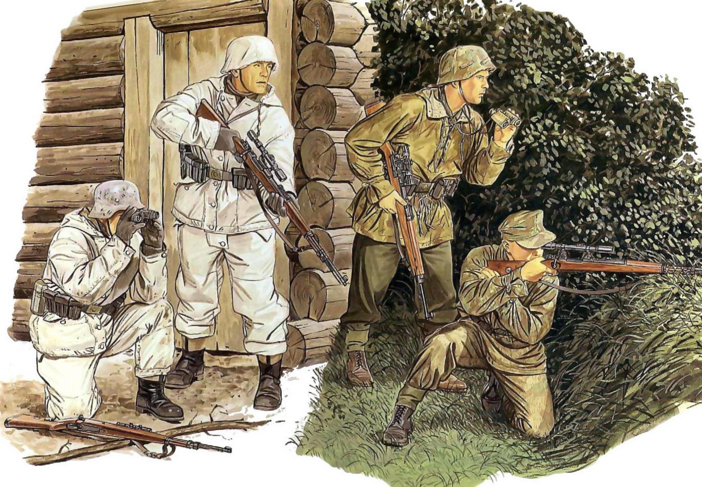 Volstad Ronald. Немецкие снайперы.