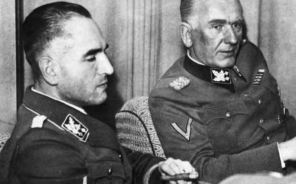 Вернер Бест и Гюнтер Панке. Копенгаген. 1943 г.
