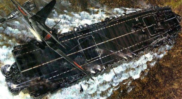 Takeshi Yuki. Атака камикадзе на авианосец «St. Lo».