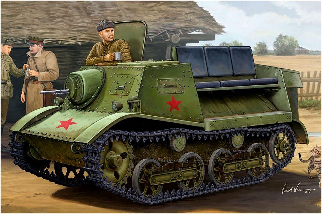 Wai Vincent. Тягач Т-20 «Комсомолец».