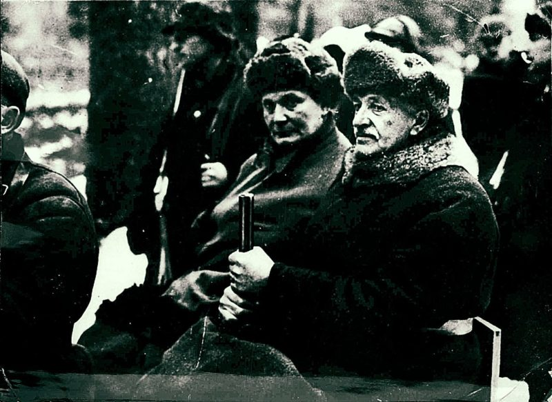 Герман Геринг и Игнаций Мосцицкий на охоте. 1937 г.