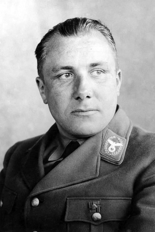 Мартин Борман. Руководитель Партийной канцелярии НСДАП. 1939 г.
