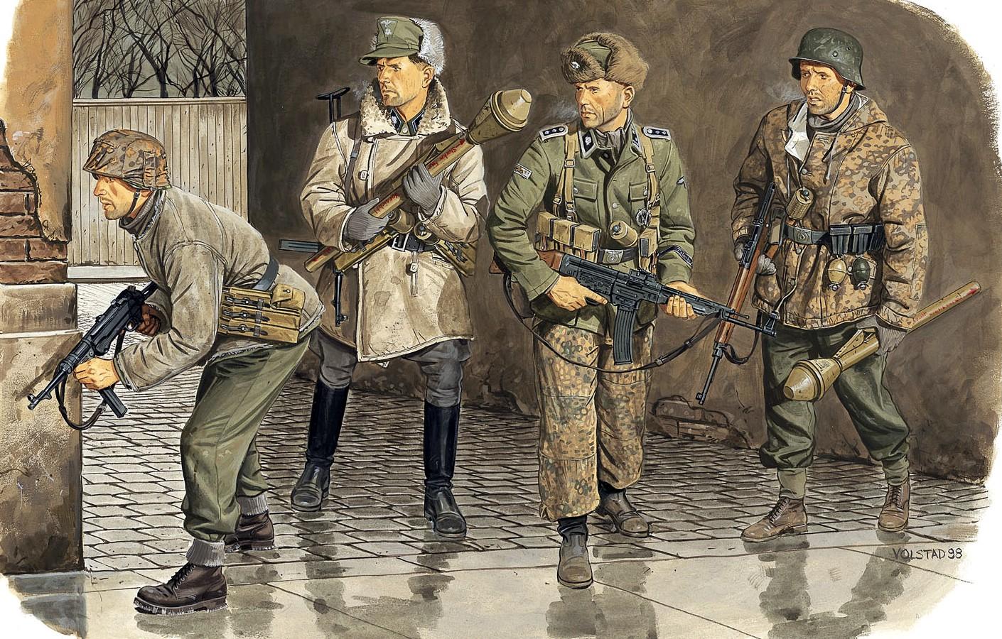 Volstad Ronald. Солдаты дивизии «Totenkopf».
