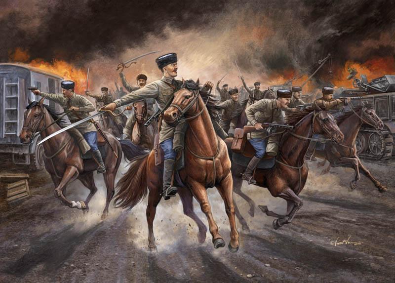 Wai Vincent. Русская кавалерия.