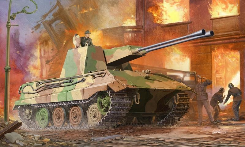 Wai Vincent. ЗСУ Flakpanzer E-75.