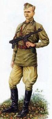 Военнослужащие украинской УПА.