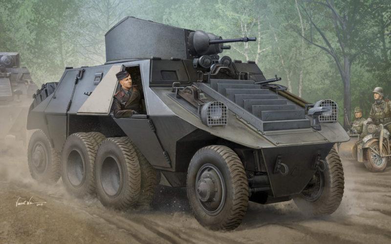 Wai Vincent. Бронеавтомобиль M-35 Mittlerer Panzerwagen.