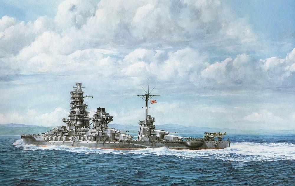 Takeshi Yuki. Линкор «Ise».