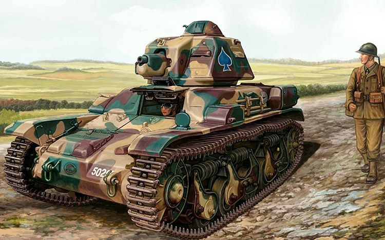 Wai Vincent. Танк Char-R35.