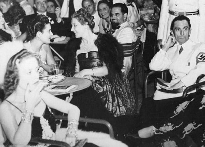 Йозеф Геббельс с женой в Венеции. 1939 г.