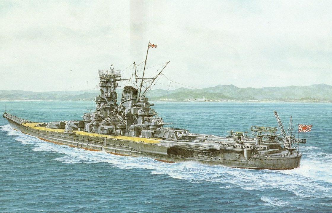 Takeshi Yuki. Линкор «Musashi».