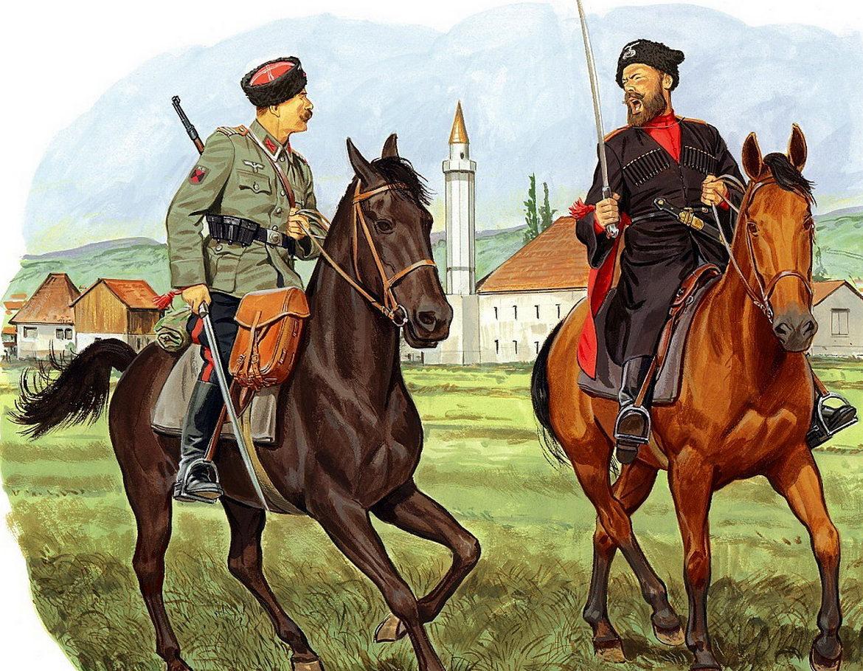 Volstad Ronald. Казаки Вермахта (Kosakenlager).