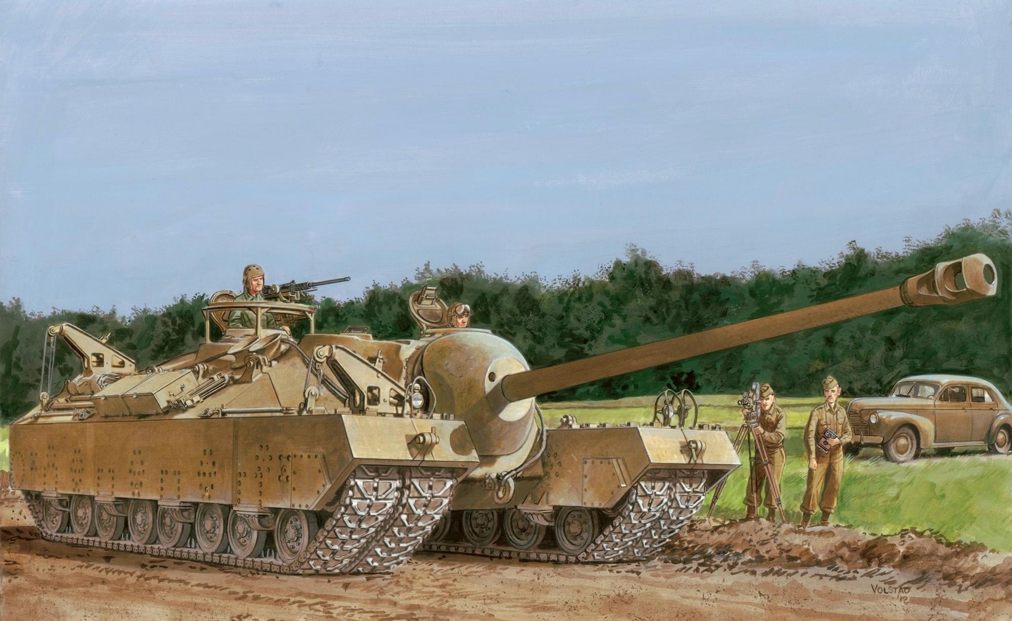 Volstad Ronald. Супертяжелый танк Т-28.