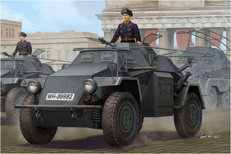 Wai Vincent. Бронетранспортер SdKfz-223.