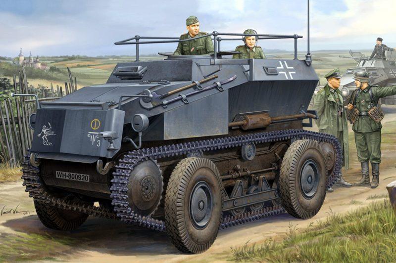Wai Vincent. Бронеавтомобиль Sd.Kfz.254.