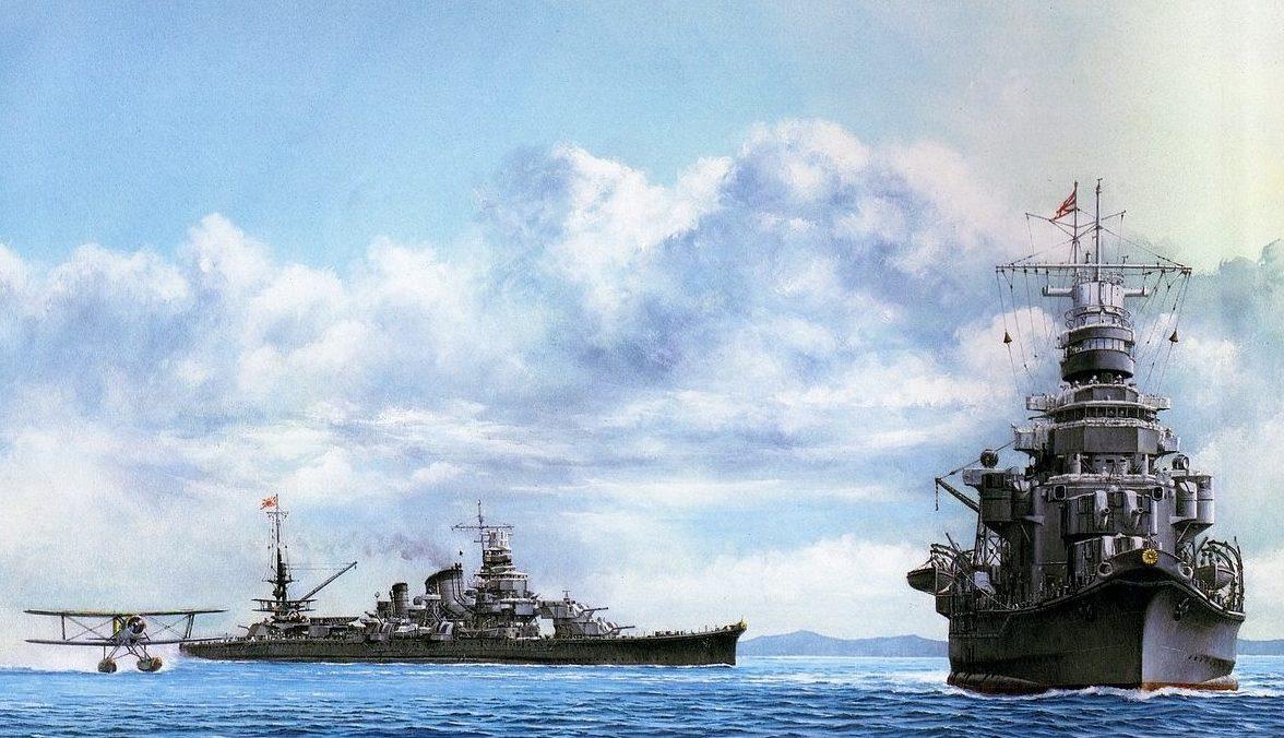 Takeshi Yuki. Тяжелый крейсер «Aoba».