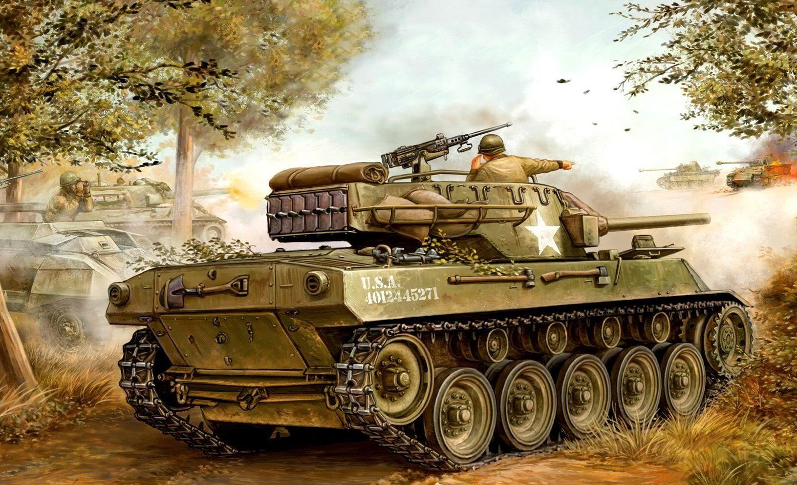 Wai Vincent. САУ М-18 «Hellcat».