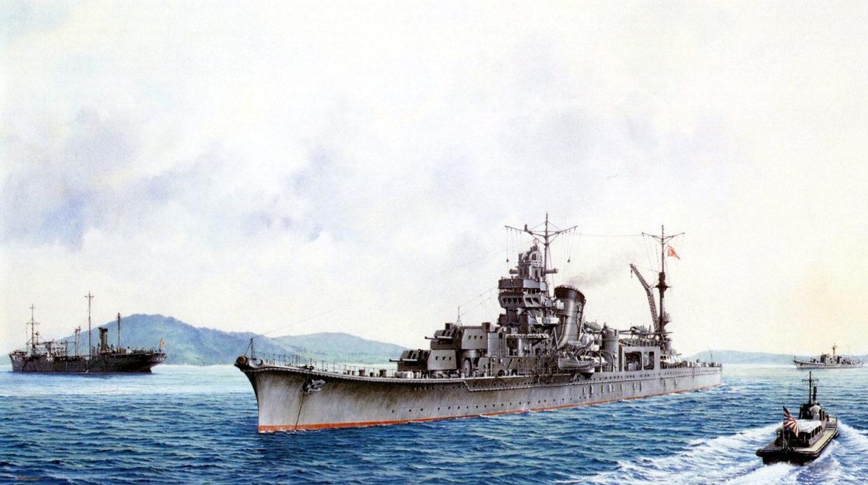 Takeshi Yuki. Крейсер «Agano».