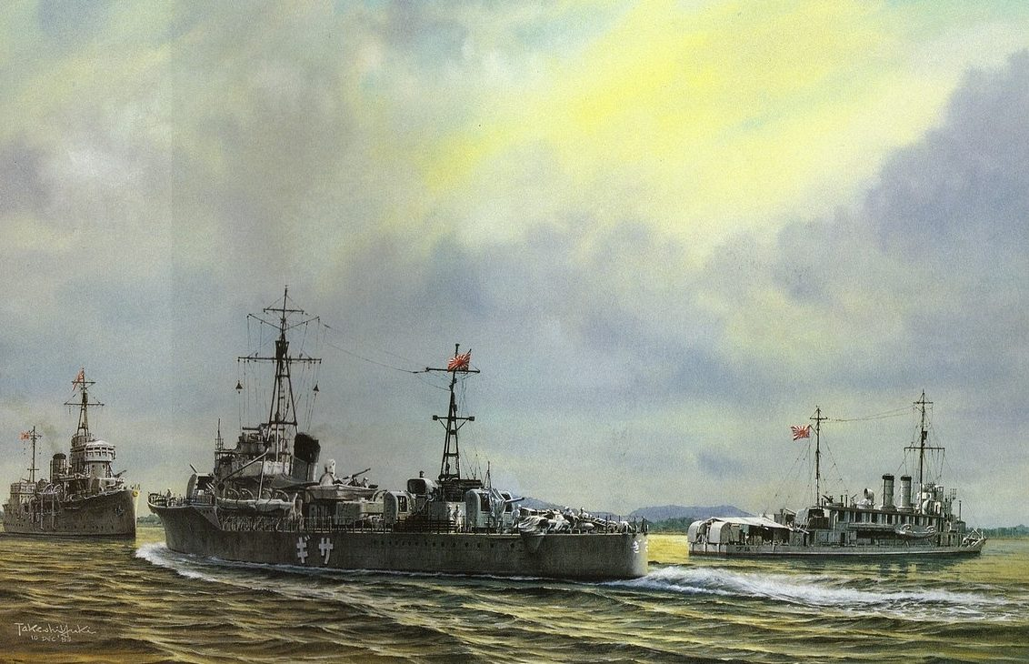Takeshi Yuki. Крейсер «Chang Jiang».