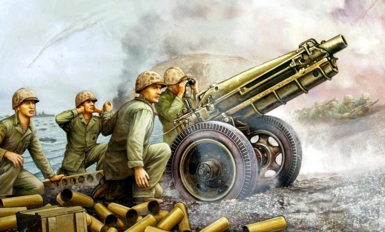 Wai Vincent. 75-mm орудие M-1A71.