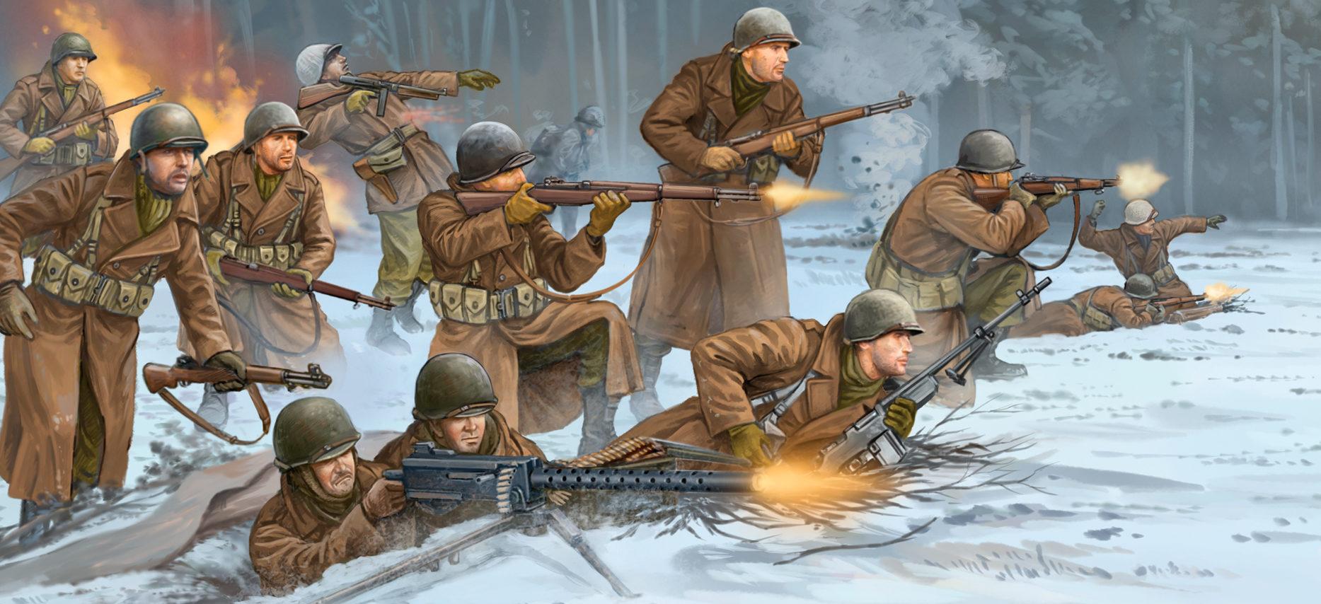 Wai Vincent. Американские пехотинцы.