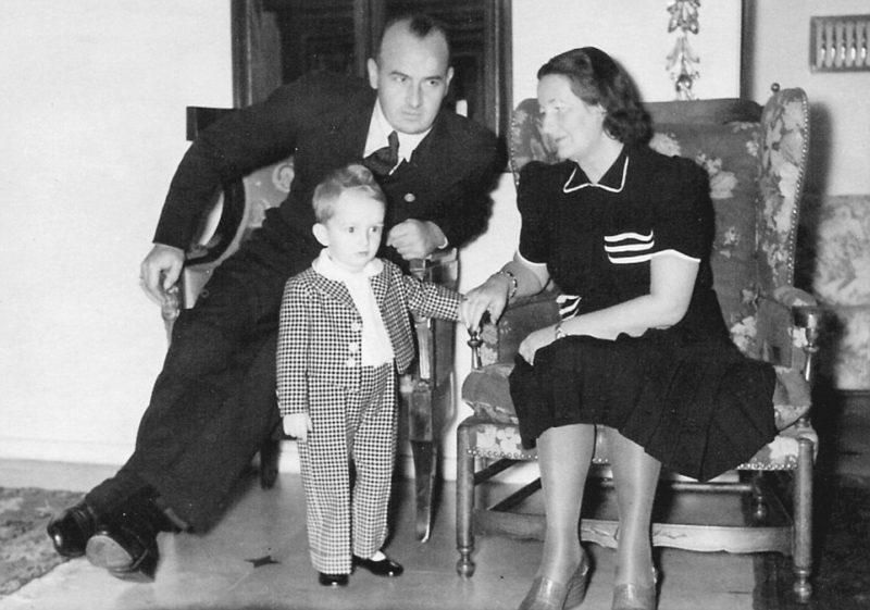 Ганс Франк с семьей. 1938 г.