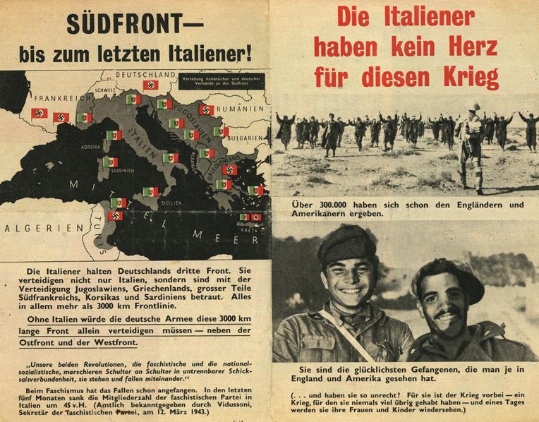 Итальянцы в этой войне.