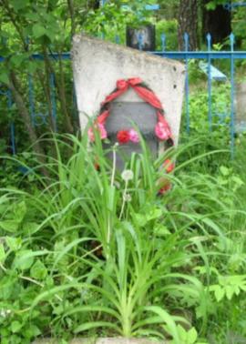 д. Тимоховка Чауского р-на. Братская могила на сельском кладбище, в которой захоронено 14 воинов.