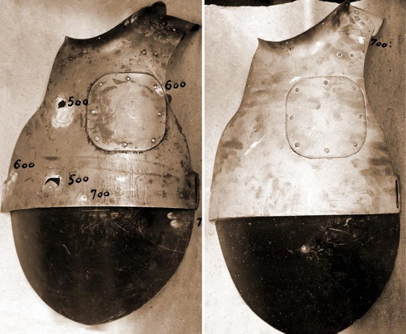 Два образца СН-38 облегчённого типа из двух частей.