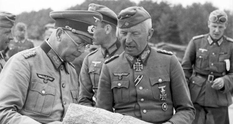 Эрих Бранденбергер на Восточном фронте. 1941 г.