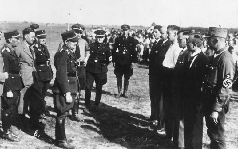 Эрих Кох в Восточной Пруссии. 1933 г.