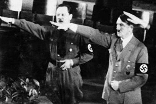 Эрих Кохи Адольф Гитлер. 1936 г.