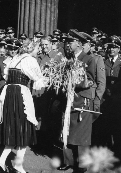 Йозеф Тербовен в Норвегии. 1941 г.