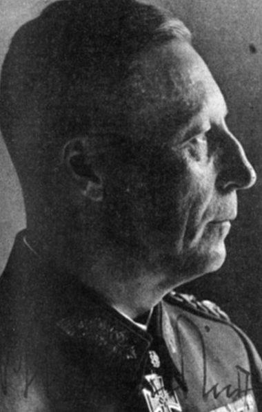 Карл Альмендингер. Генерал пехоты.