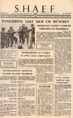 Регулярные газеты для немцев.