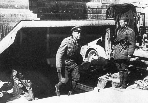 Арест Гельмута Вейдлинга. 1945 г.