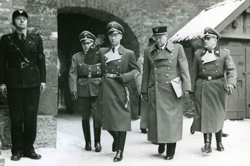 Йозеф Тербовен в Норвегии. 1942 г.