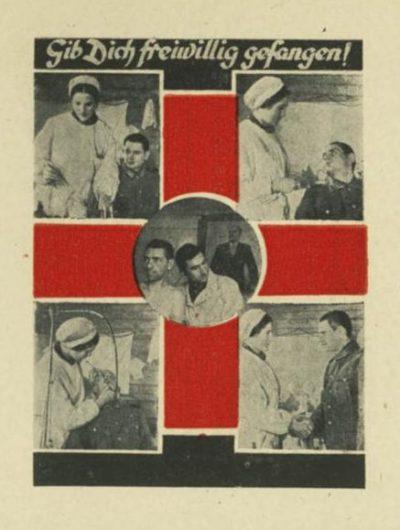 В советском плену оказывают медицинскую помощь.
