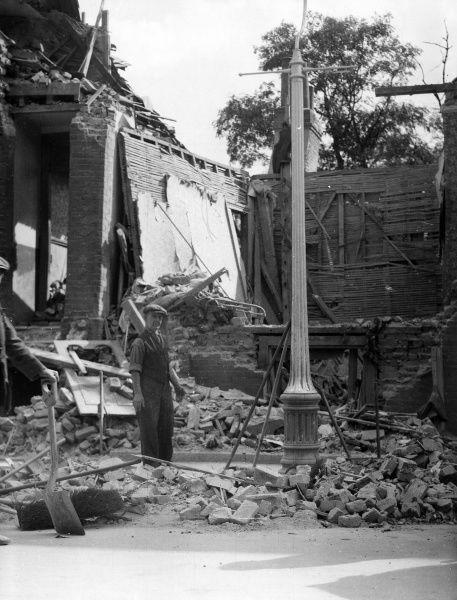 Все что осталось от дома. 1940 г.