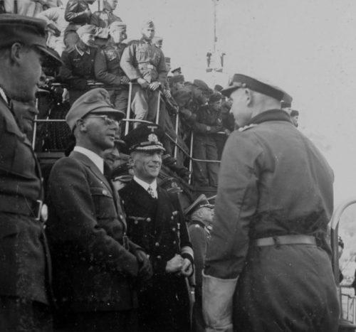 Йозеф Тербовен и Губерт Шмундт. 1942 г.
