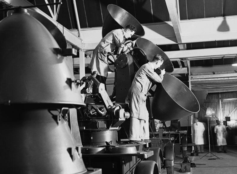 Завод по изготовлению акустических локаторов. 30 июля 1940 г.