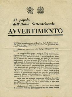 Для жителей Северной Италии.