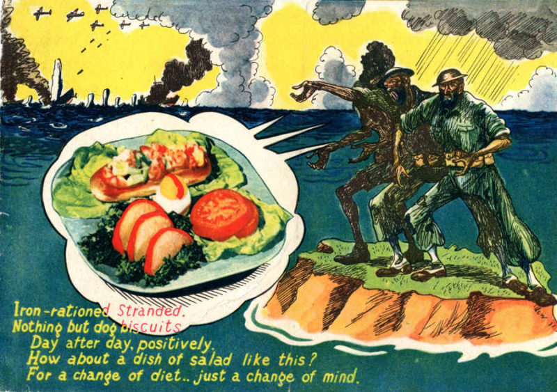 Австралийским солдатам настойчиво предлагают сменить диету.