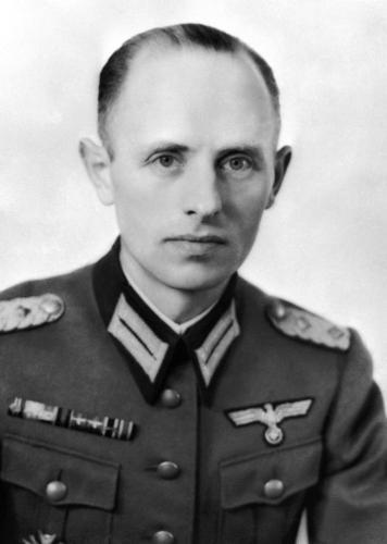 Рейнгард Гелен. Генерал-майор.