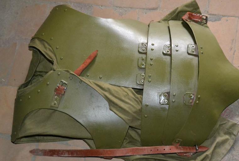 Ленинградский панцирь защитный ПЗ-ЗИФ-20.