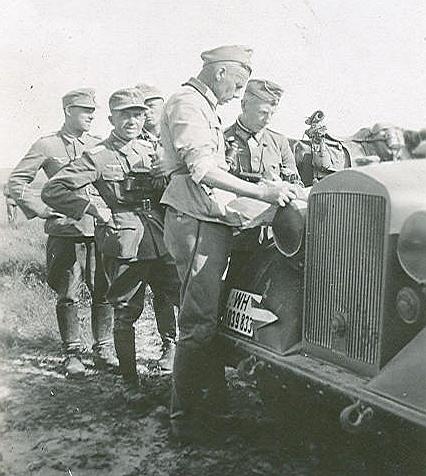 Максимилиан Ангелис на Восточном фронте. 1943 г.