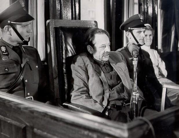 Эрих Кох на суде в Польше. 1959 г.